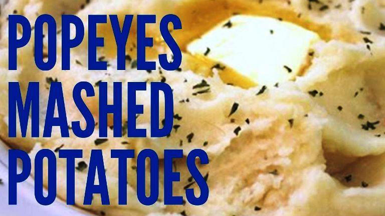popeyes mashed potatoes