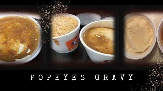 Popeyes Gravy